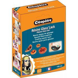 RÉSINE CRÉATIVE Résine Glass'Lack 150ML - Cléopâtre