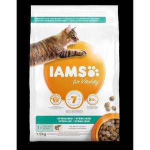 CROQUETTES IAMS Vitality Croquettes premium chats stérilisés