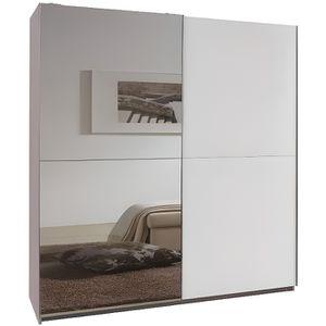 ARMOIRE DE CHAMBRE Dressing à portes coulissantes CLAPTON 180cm color