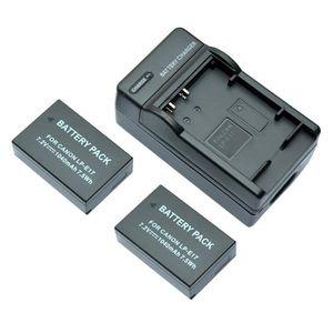 BATTERIE APPAREIL PHOTO MP power @ 2x Remplacement Batterie LPE17 LP-E17 1