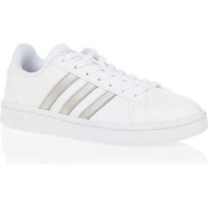 new product 2168d f7b41 BASKET ADIDAS GRAND COURT - Basket - BLANC OR ...