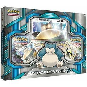 CARTE A COLLECTIONNER Coffret Pokémon - Ronflex GX Français jeu de carte
