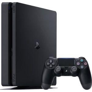 CONSOLE PS4 Sony Console de jeu PS4 Slim 1TB Noir 1000 Go Wifi