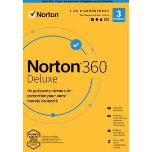 ANTIVIRUS Antivirus Norton 360 Deluxe 2020* | 1 An | 3 Appar