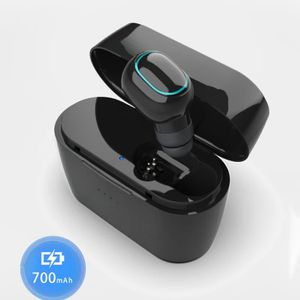 CASQUE - ÉCOUTEURS Écouteur sans fil Bluetooth à veille longue durée