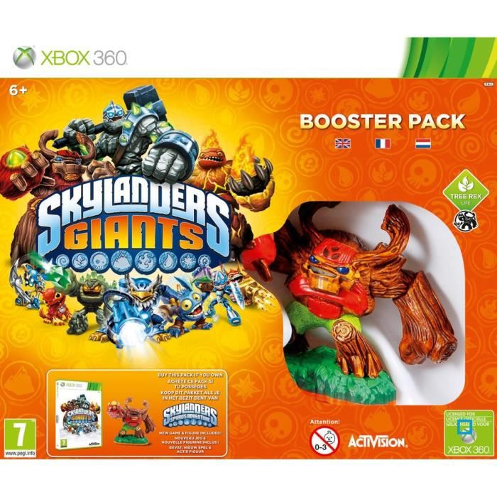 JEUX XBOX 360 Booster Pack Skylanders Giants XBOX 360