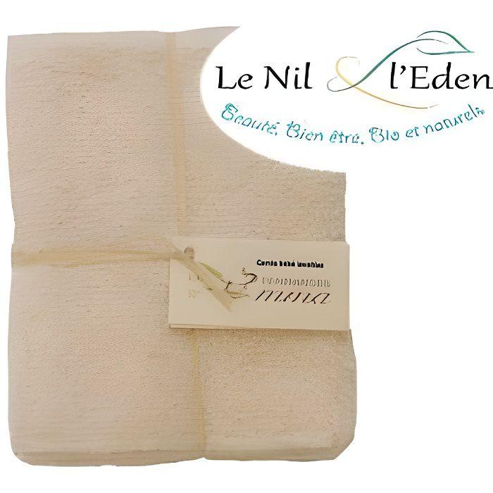 Recharge carrés bébé lavables coton Bio biface