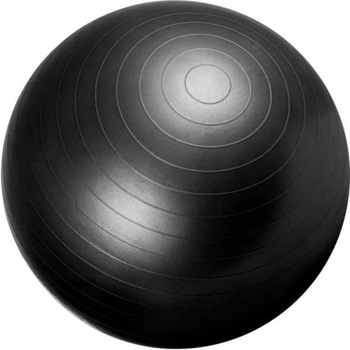 Swiss ball - Ballon de gym NOIR / 65cm