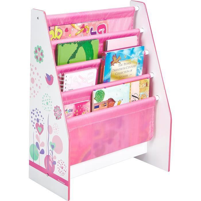 Bibliothèque Enfant Rose Fille HelloHome - Worlds Apart