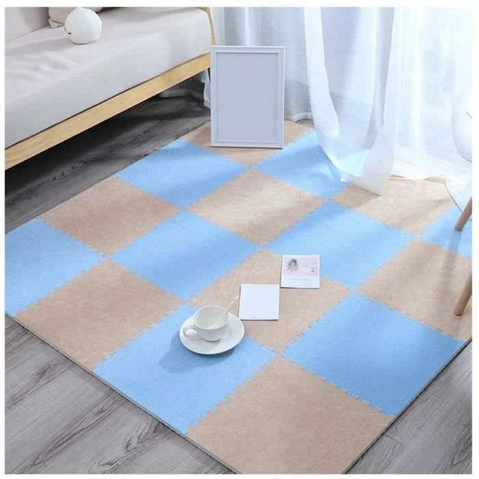 Puzzles de sol GYYARSX Tapis Mousse Enfant Les Tapis Suède PE Décoratif for La Maison Gym Chambre Revêtement De Sol Prot 320273