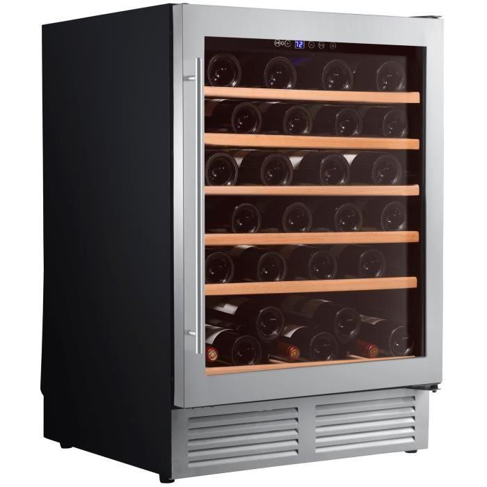 Cave à vin de service - 1 temp. - 51 bouteilles - Noir - CLIMADIFF - ACI-CLI573E - Encastrable