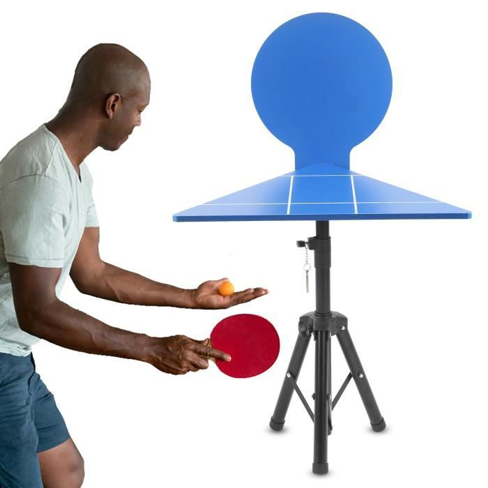 GOTOTOPTable de pratique de tennis de table Matériel de formation de tennis de table intérieur extérieur