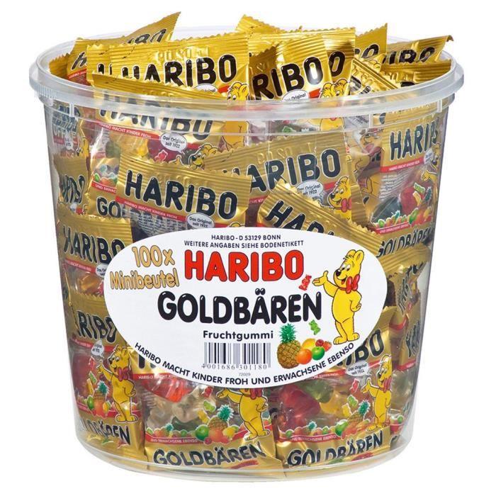 Haribo L'Ours D'Or Mini (lot de 4)