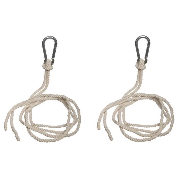 2 Cordes de fixation pour hamac