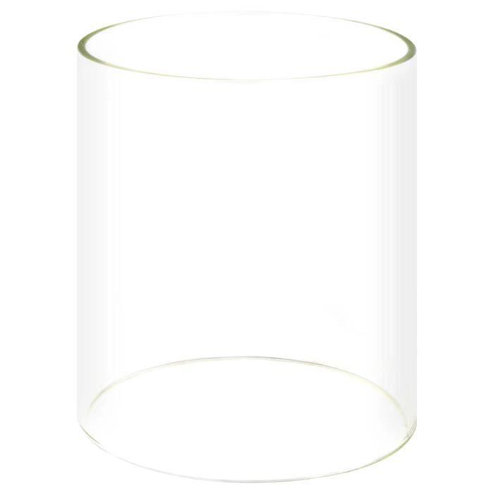 Cylindre en verre pour réchaud à hot-dog 200 x 240 mm