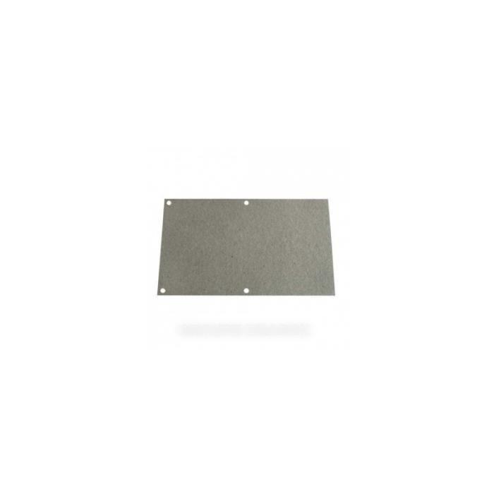 COUVERCLE MICA POUR MICRO ONDES WHIRLPOOL VEDETTE 5892907 - plaque à découper 17.5 cm x 11.5 cm * - BVMPièces