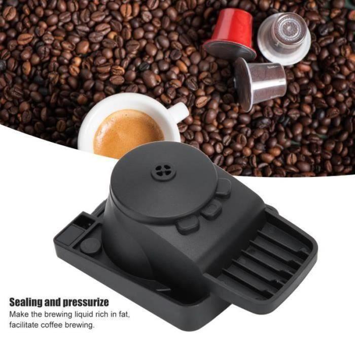 BT15258-DILWE--Adaptateur Capsule Accessoire Machine à Café pour DOLCE GUSTO Capsules Jetables-Réutilisables-LAT