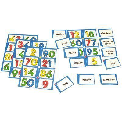 LOTO - BINGO Le jeu du Bingo-Loto des numéros en Anglais