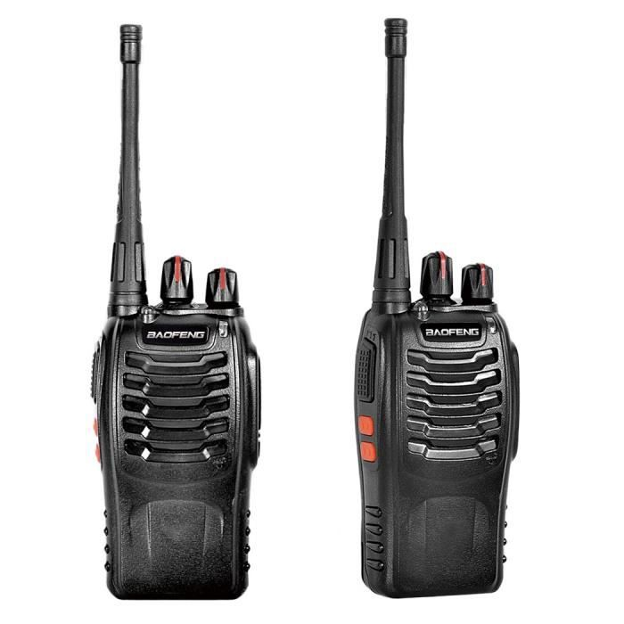 Talkie Walkie Longue Portee UHF MHZ Voies Radio CH W - Talkie walkie longue portée