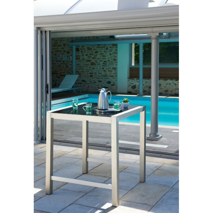 Table bar de jardin achat vente table de jardin table for Achat table bar