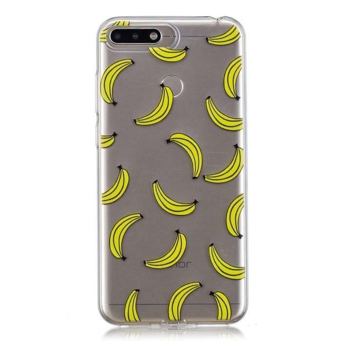 Coque HUAWEI Y6 2018 TPU Silicone - Banana
