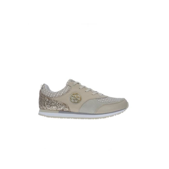Guess Sneakers Femme White/yellow Dore