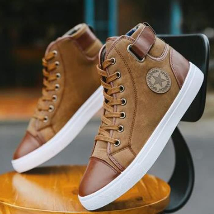 chaussures converse homme beige
