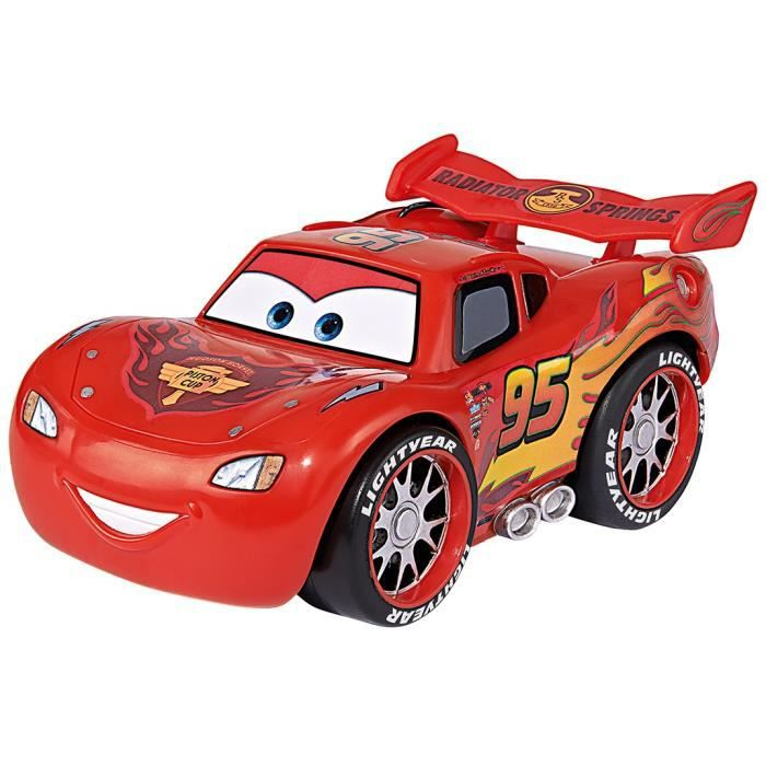 cars 3 smoby voiture rc flash mc queen 1 30 achat vente voiture camion cdiscount. Black Bedroom Furniture Sets. Home Design Ideas