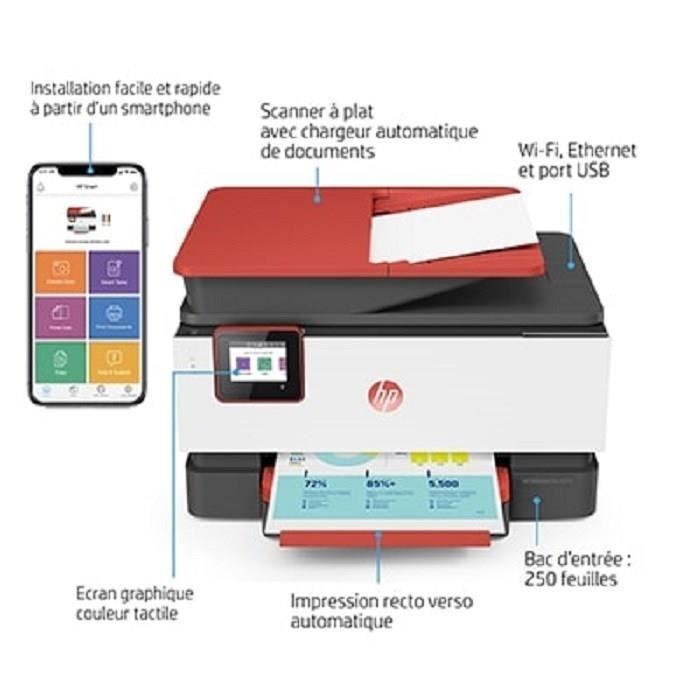 IMPRIMANTE HP Imprimante Tout-en-un OfficeJet Pro 9016 Corail