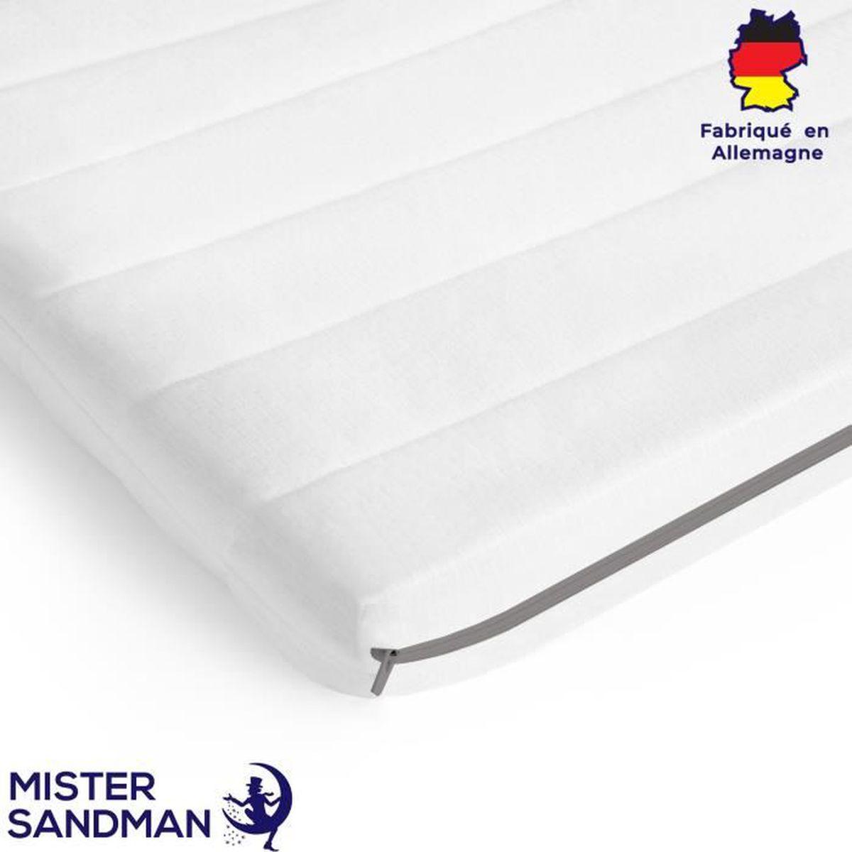 SURMATELAS Grand Confort 90x200 cm en 100/% LATEX