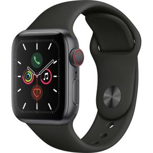 MONTRE CONNECTÉE Apple Watch Series 5 Cellular 40 mm Boîtier en Alu