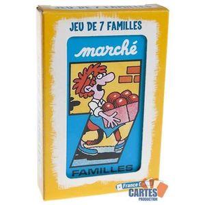 CARTES DE JEU Jeu des 7 Familles Le Marché - Jeu de 42 cartes