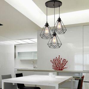 Luminaire Suspension Cuisine Style Industriel Achat Vente Pas Cher