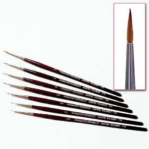 Da Vinci Micro Maestro Kolinsky Rouge Sable Pinceau série 100 Taille 5//0