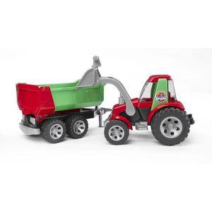 TRACTEUR - CHANTIER BRUDER 20116 - Tracteur ROADMAX avec fourche et re