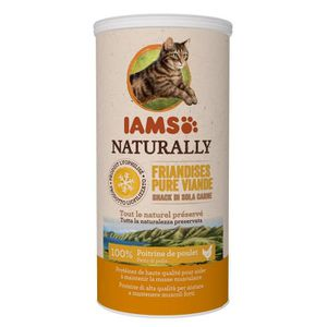 FRIANDISE IAMS Naturally Friandises pour chats 100 % viande