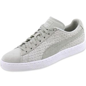 BASKET Chaussures SUEDE CLASSIC EMBOSS Beige Homme Puma