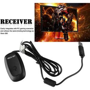 ADAPTATEUR MANETTE PC récepteur USB de jeu sans fil Adaptateur pour M