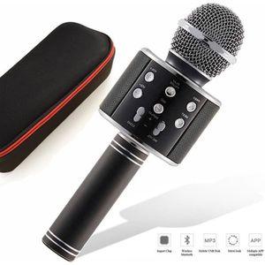 HAUT-PARLEUR - MICRO SHENGMI Microphone Q7 Bluetooth Micros Sans Fil Po