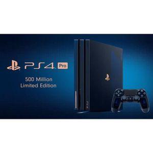 CONSOLE PS4 PlayStation 4 Pro 2 TB - 500 Million Limited Editi