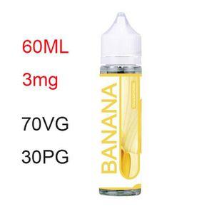 LIQUIDE E-Liquide Banana Cigarette Electronique 60ml 3mg N