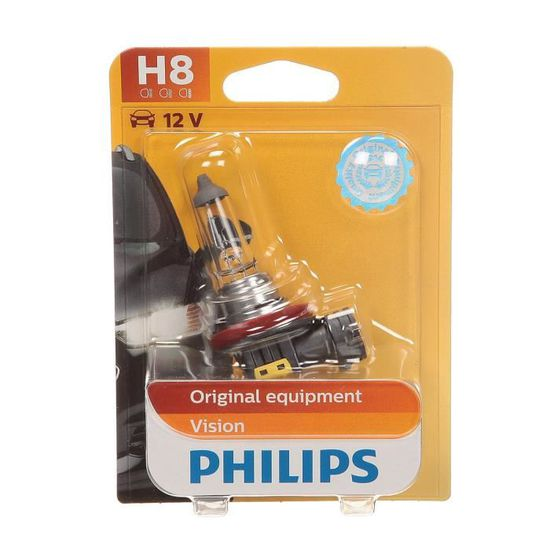 1-er Blister Philips 12360B1 Vision H8 Scheinwerferlampe