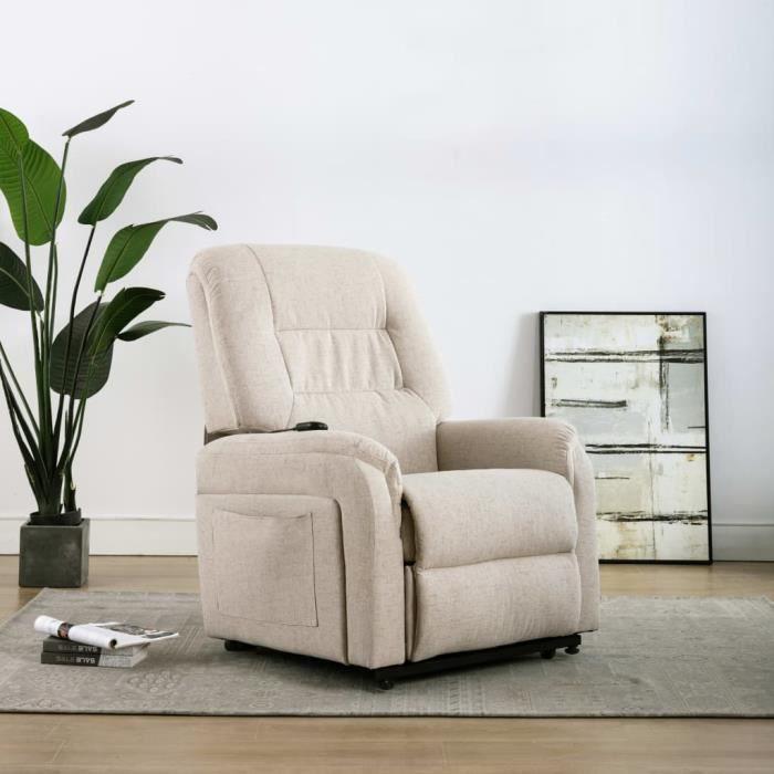 ⛲6785Elégant Fauteuil de Massage TV Electrique Fauteuil de Relaxation- Fauteuil relax style Scandinave & Confortable - Fauteuil de S