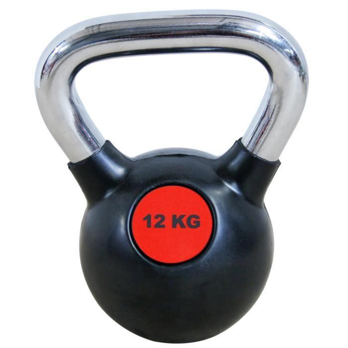 Kettlebell Leader Fit 12kg - noir - TU