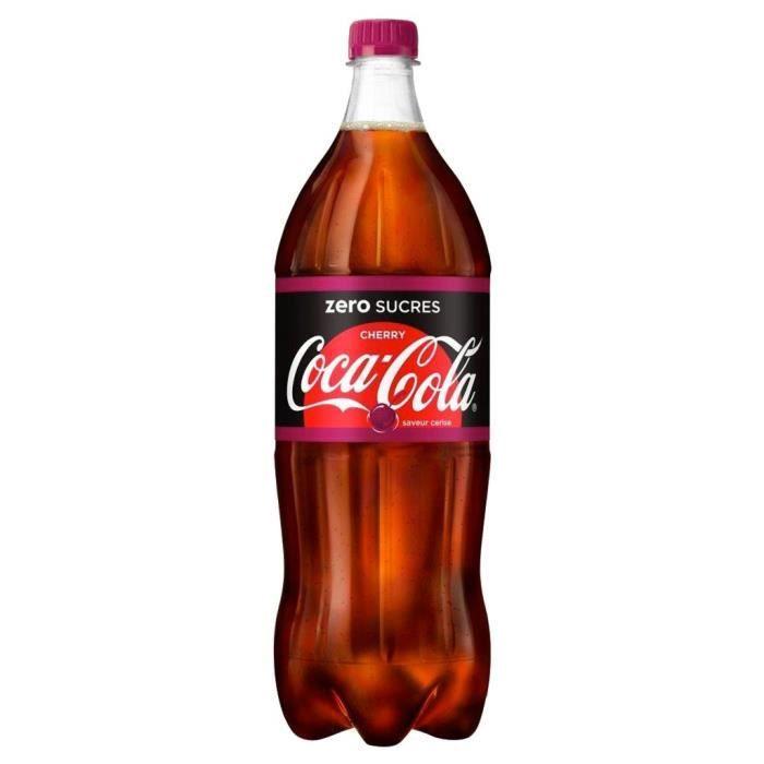 Coca-Cola Cherry Zero 1,25L (lot de 12)