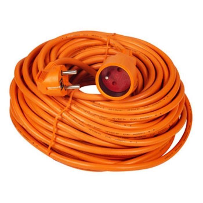 Extentions d'alimentation Voltman VOM530453 Prolongateur Rallonge électrique 16A 3 G 1,5 25 m 35318