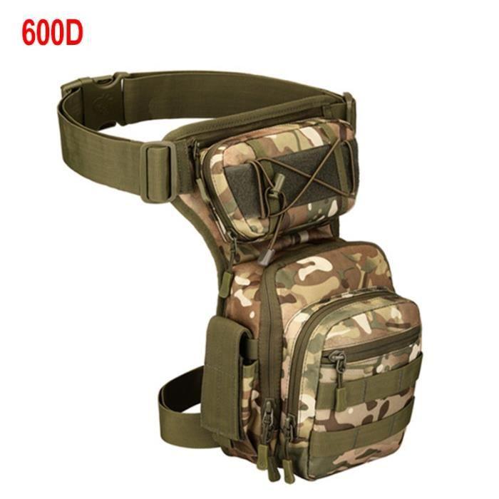 600D CP -XA936WA – sac de cuisse ajustable pour hommes, sacoche de ceinture utilitaire, poche de hanche ajustable pour randonnée, sa