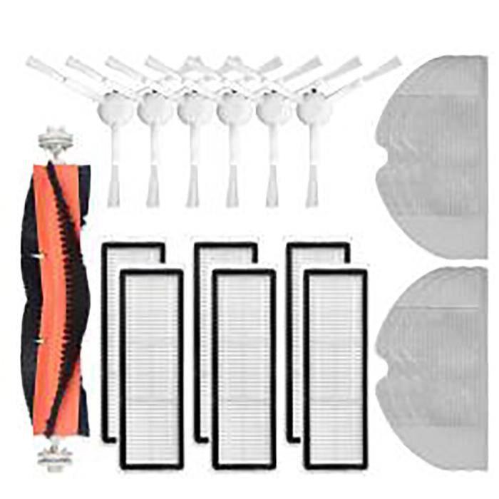 Kit de nettoyage de remplacement pour aspirateur Robot Xiaomi Dreame F9, brosses à rouleau, brosse latérale en tissu, fi*DI1571