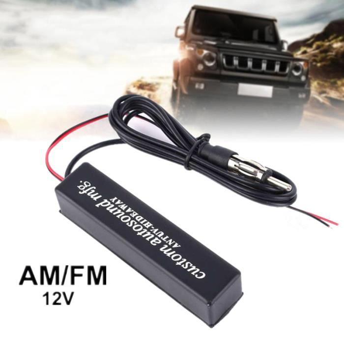Amplificateur Radio d'Antenne Universel Réception de Signal d'Antenne de Radio de Voiture FM 12V -CYA