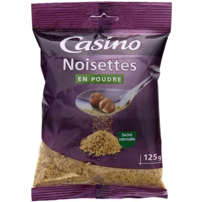 CASINO Noisettes en poudre -125 g